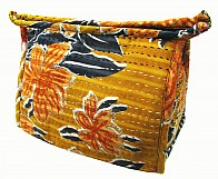 Kantha washbags narang flower