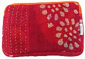 kantha ipad case lal