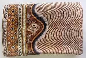 KA Kantha throw swirls