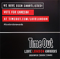 Time out shortlisted